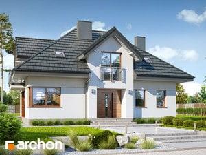 Проект дома ARCHON+ Дом в сливах 2