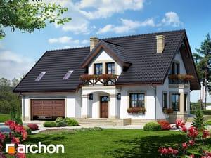 Проект дома ARCHON+ Дом в тамарисках 4 (Г2)