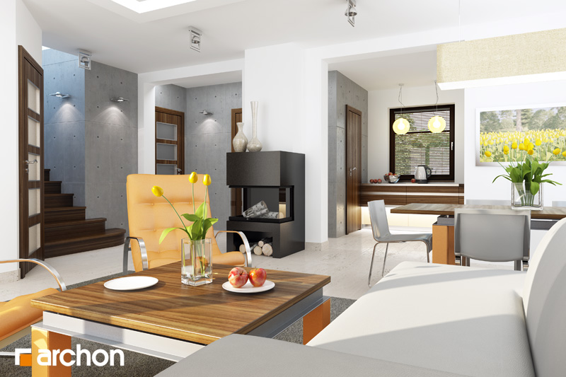 Дом в рододендронах 6 (Г2Н) - Интерьеры