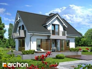 Проект дома ARCHON+ Дом в рододендронах 5 (H)