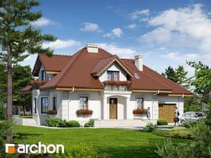Проект дома ARCHON+ Дом в нектаринах 2 (П)