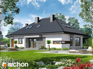 Проект дома ARCHON+ Дом под красной рябиной (ГМН)