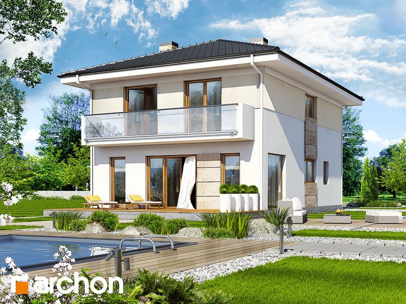 Проект дома ARCHON+ Вилла Юлия 2 - Визуализация 2