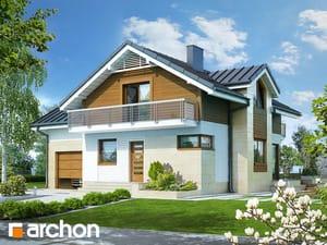 Проект дома ARCHON+ Дом в абрикосах 3