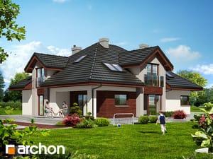 Проект дома ARCHON+ Дом в хебе 2