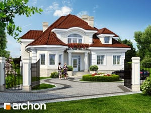 Проект дома ARCHON+ Резиденция в Мышленицах 2