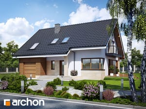Проект дома ARCHON+ Дом в айдаредах