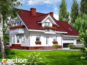 Проект дома ARCHON+ Дом в рододендронах 6 (Г2П)