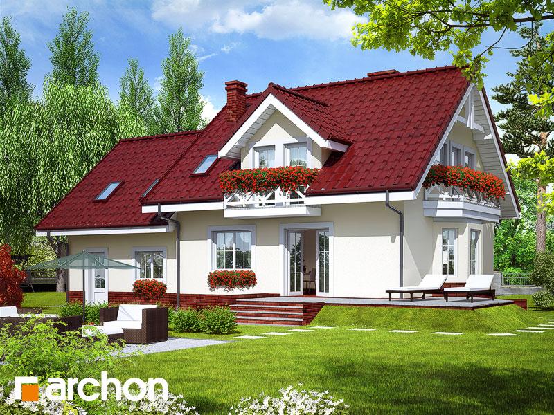 Дом в рододендронах 6 (Г2П) - Визуализация 2