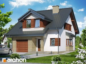 Проект дома ARCHON+ Дом в одуванчиках (Н)