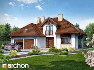Проект дома ARCHON+ Дом в калатеях 2 (П)