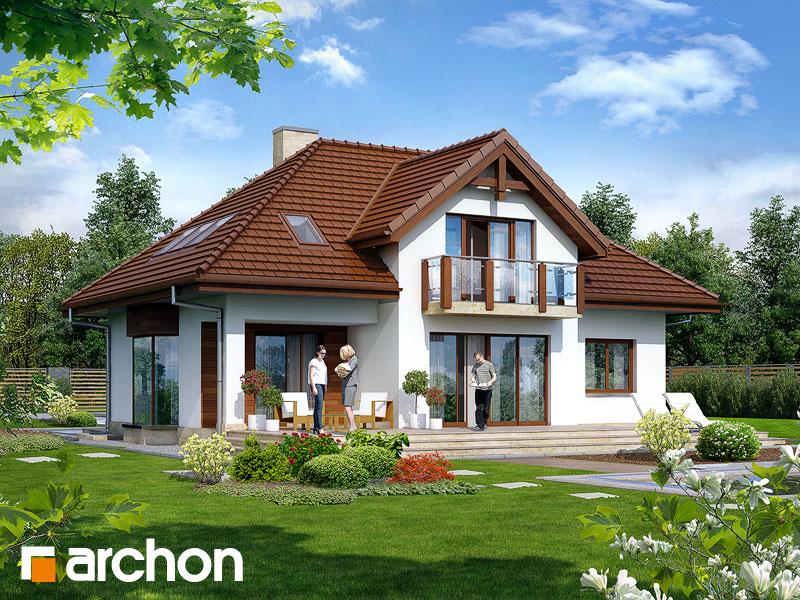 Проект дома ARCHON+ Дом в калатеях 2 (П) - Визуализация 2