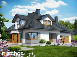 Проект дома ARCHON+ Дом в чернушке 2 (Г2)