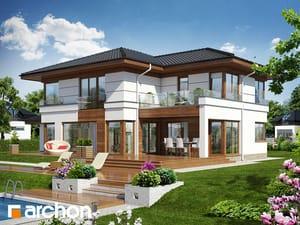 Проект дома ARCHON+ Вилла Вероника 3