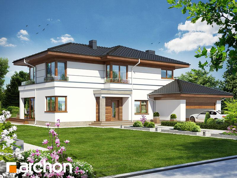 Проект дома ARCHON+ Вилла Вероника 3 - Визуализация 2