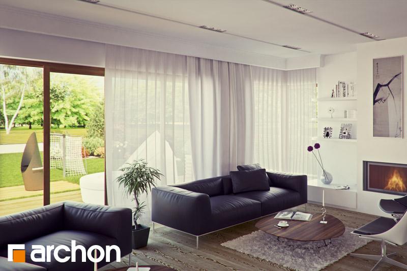 Проект дома ARCHON+ Вилла Вероника 3 - Интерьеры