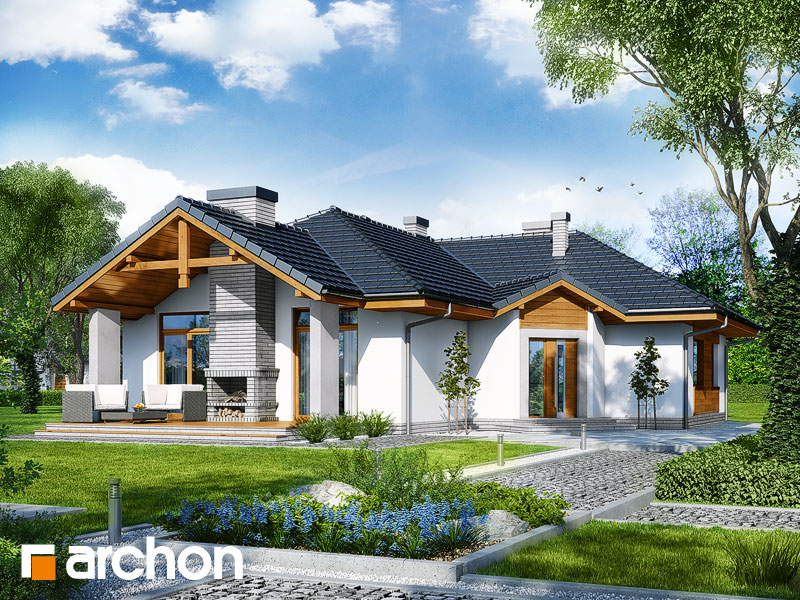 Дом в салсефиях - Визуализация 1