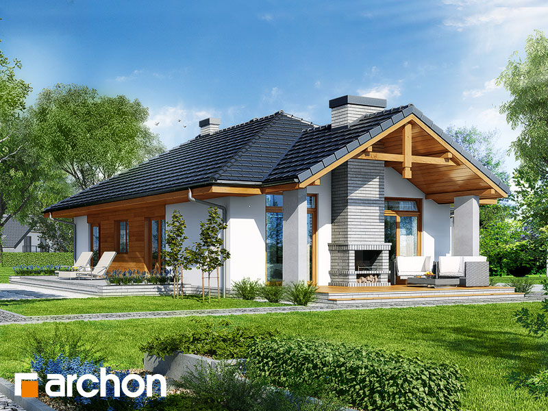 Дом в салсефиях - Визуализация 2