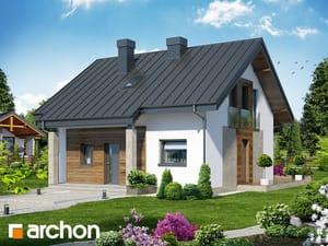 Проект дома ARCHON+ Дом Миниатюрка (Н)