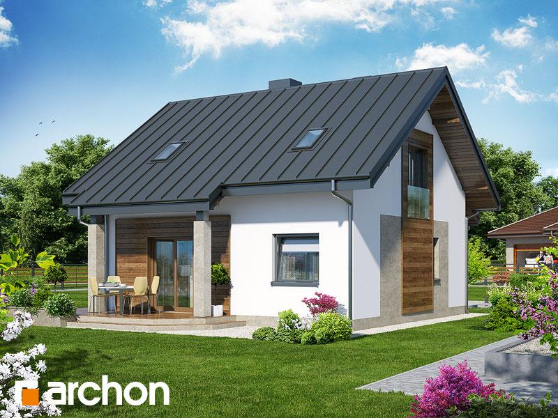Проект дома ARCHON+ Дом Миниатюрка (Н) - Визуализация 2