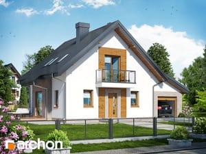 Дом в рододендронах 4 (H)