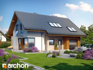 Проект дома ARCHON+ Дом в вистерии