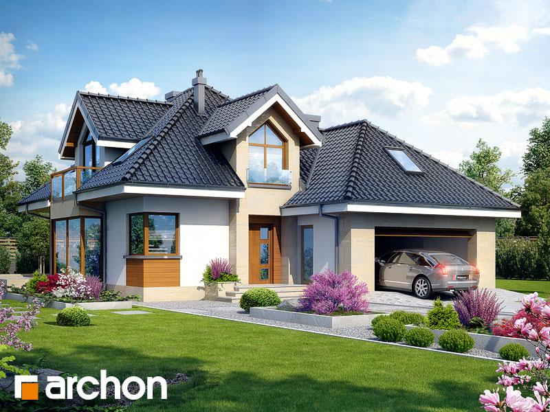 Проект дома ARCHON+ Дом в рукколе (Г2H) - Визуализация 1