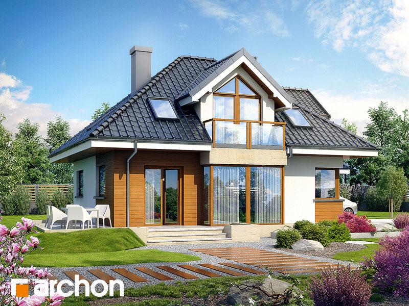 Проект дома ARCHON+ Дом в рукколе (Г2H) - Визуализация 2