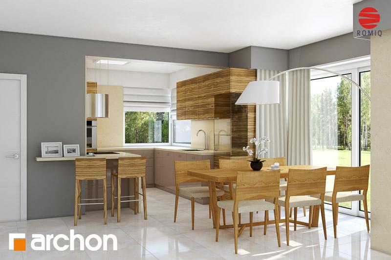 Проект дома ARCHON+ Дом в рукколе (Г2H) - Интерьеры