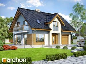 Проект дома ARCHON+ Дом в бархатцах 2 (Н)