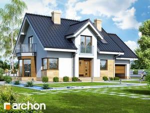 Проект дома ARCHON+ Дом в рододендронах 6 (A)