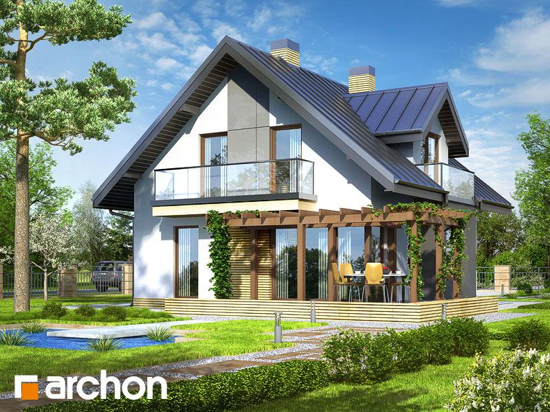 Дом в рододендронах (Н) - Визуализация 2
