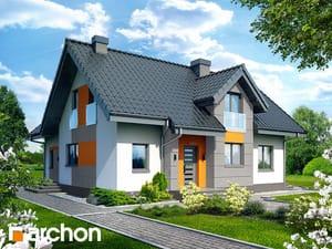 Проект дома ARCHON+ Дом в мнишках 2