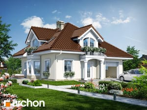 Проект дома ARCHON+ Дом в тимьяне 6