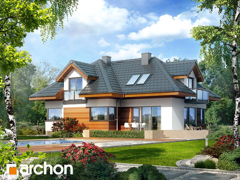 Проект дома ARCHON+ Дом в камелиях (Г2H) - Визуализация 2