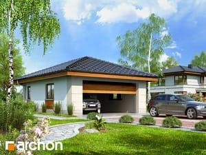 Проект дома ARCHON+ Г18 - Двухместный гараж