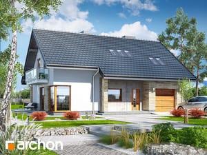Проект дома ARCHON+ Дом в вистерии 3