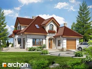Проект дома ARCHON+ Дом в рукколе 2
