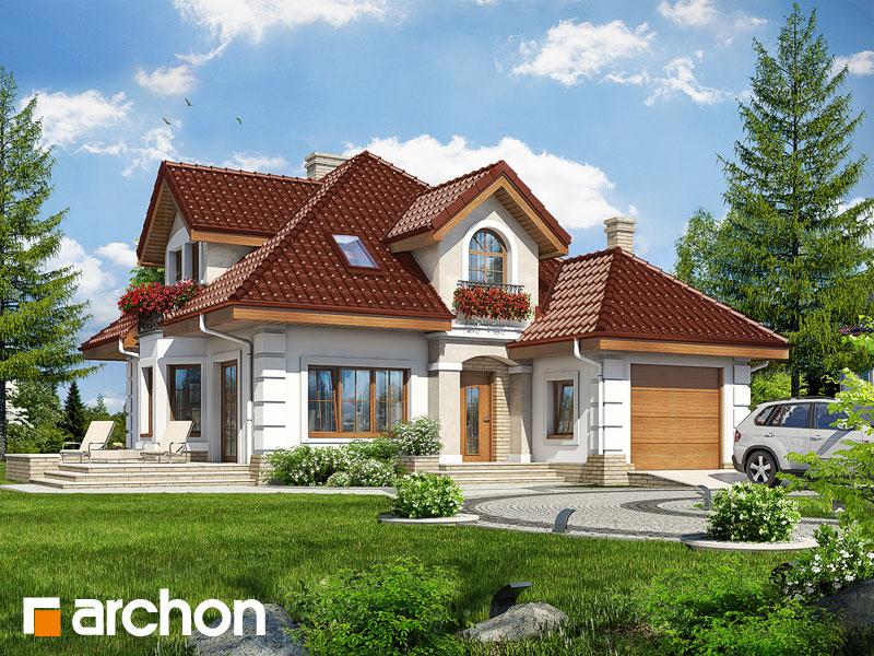 Проект дома ARCHON+ Дом в рукколе 2 - Визуализация 1