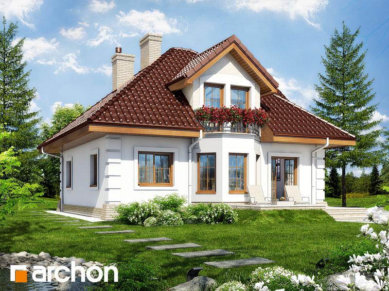 Проект дома ARCHON+ Дом в рукколе 2 - Визуализация 2