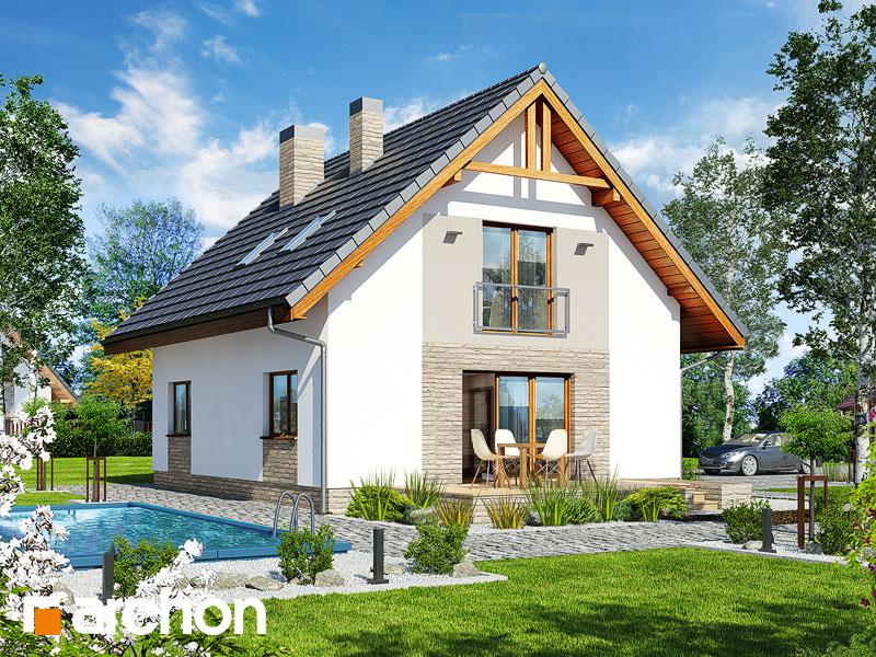 Проект дома ARCHON+ Дом в люцерне 4 - Визуализация 2