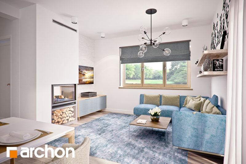 Проект дома ARCHON+ Дом в люцерне 4 - Интерьеры