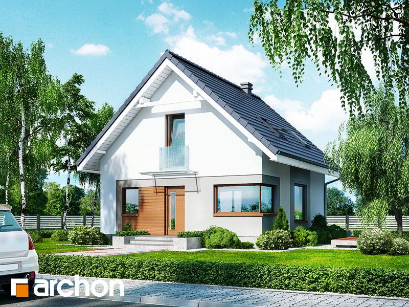 Дом в рододендронах 11 (H) - Визуализация 1