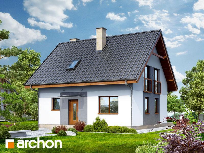 Проект дома ARCHON+ Дом в хлорофитуме 2 - Визуализация 1