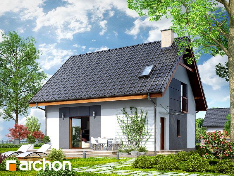 Проект дома ARCHON+ Дом в хлорофитуме 2 - Визуализация 2