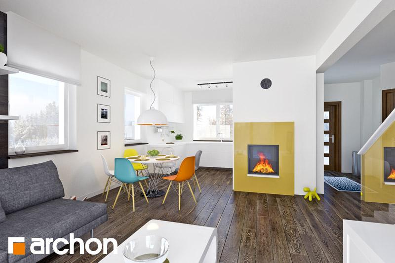 Проект дома ARCHON+ Дом в хлорофитуме 2 - Интерьеры