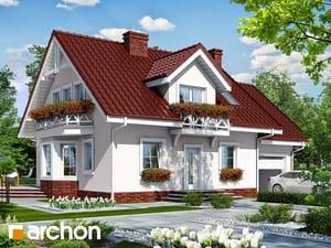 Проект дома ARCHON+ Дом в рододендронах 6 ver.3