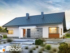 Проект дома ARCHON+ Дом под красной рябиной 8 (H)