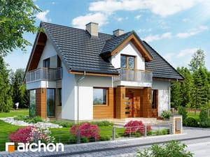 Проект дома ARCHON+ Дом в рододендронах 6 (ВH)