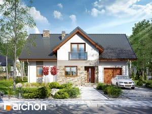 Проект дома ARCHON+ Дом в нолянах